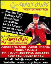 CRAZY CHAPS EVENT AND WEDDING PLANNER