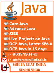 Java Training in Raipur