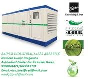 kirloskar green silent genset chhattisgarh state