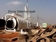Waste Tyre pyrolisis Plant (Recycling plant)