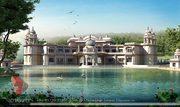 Raipur  3d Bungalow rendering services 110#