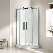 DABBL Brand- Bathroom Shower Enclosure,  Cubicle,  Glass Doors