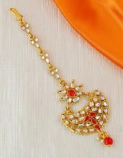 Shop for Maang Tikka Design Online at Best Price.
